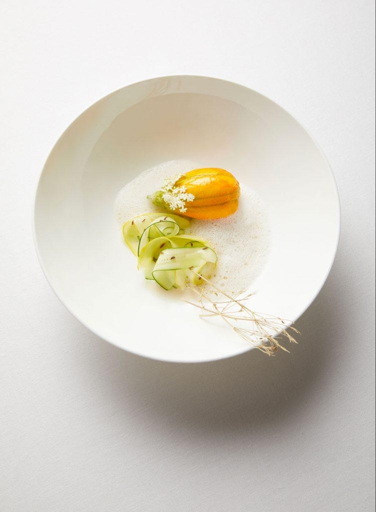 Plat cuisine végétale